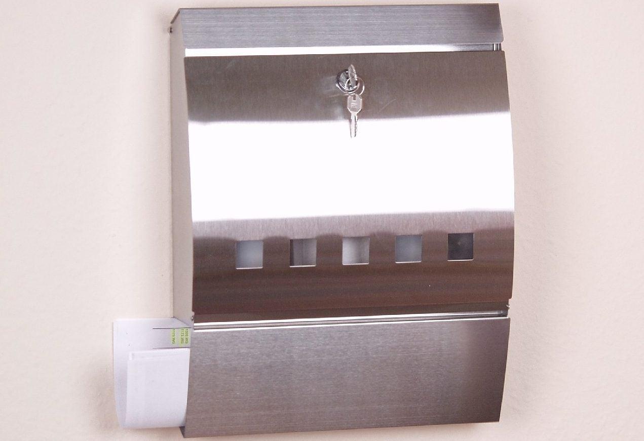 briefkasten holz edelstahl preisvergleich die besten angebote online kaufen. Black Bedroom Furniture Sets. Home Design Ideas