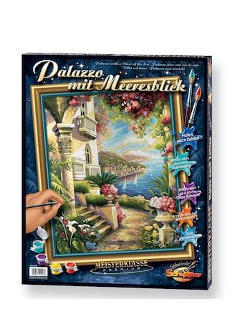 Schipper Malen nach Zahlen »Meisterklasse Premium - Palazzo mit Meeresblick«, Made in... kaufen