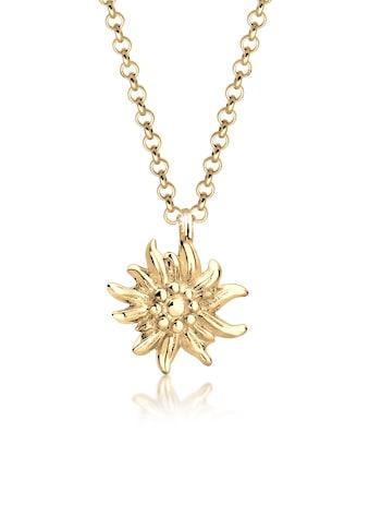 Elli Kette mit Anhänger »Edelweiss Symbol Anhänger Wiesn Tracht 925 Silber« kaufen