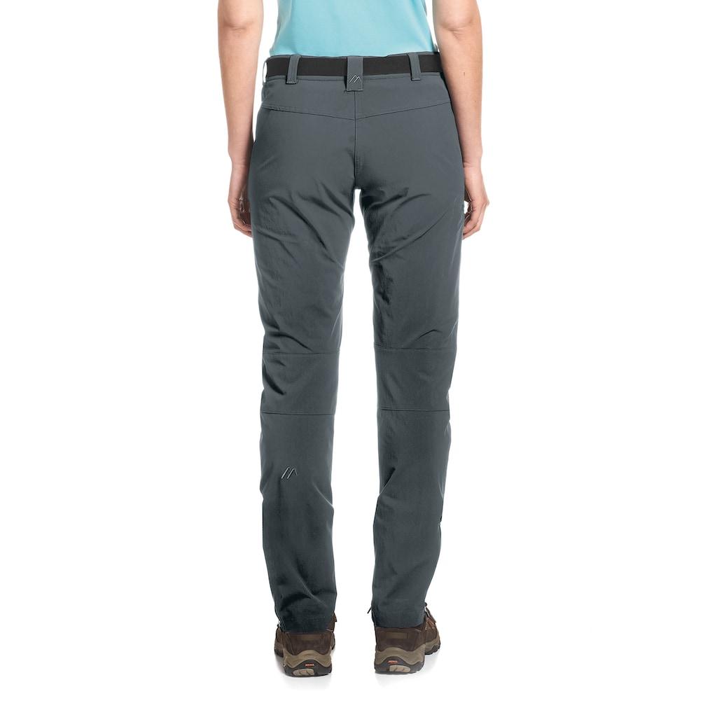 Maier Sports Funktionshose »Inara slim«, Schmal geschnitte Outdoorhose aus elastischem Material
