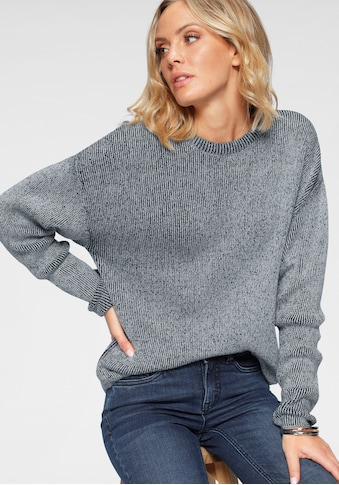 Arizona Strickpullover »in Washed-Optik«, Washed-Optik kaufen