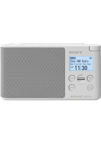 Sony Digitalradio (DAB+) »XDR-S41D Tragbares«, (Digitalradio (DAB+)-FM-Tuner), mit... kaufen