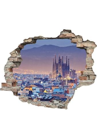 queence Wandtattoo »Stadt« kaufen
