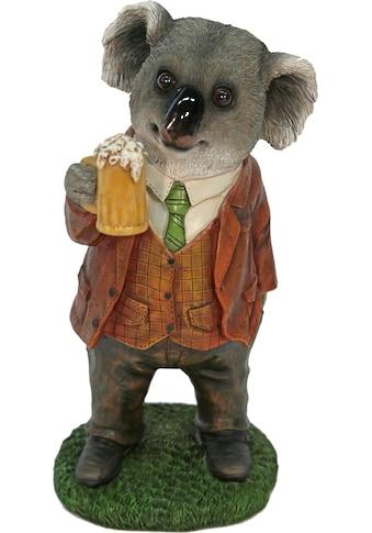 Home affaire Tierfigur »Herr Koala im Anzug trinkt Bier« kaufen