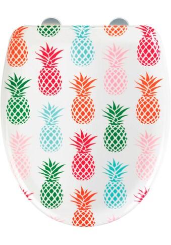 WENKO WC-Sitz »Ananas« kaufen