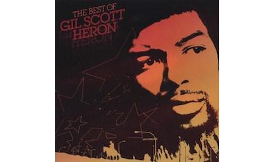 Musik-CD »Best Of,Very / Scott-Heron,Gil« kaufen
