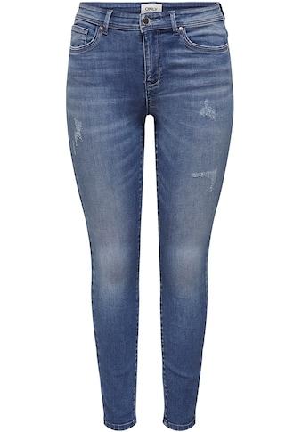 Only Skinny-fit-Jeans »ONLWAUW«, mit Destroyed Effekt kaufen