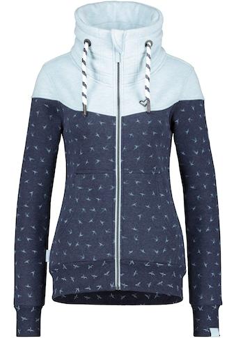 Alife & Kickin Sweatjacke »ValinaAK«, sportive Jacke mit hohem extradicken Stehkragen&... kaufen