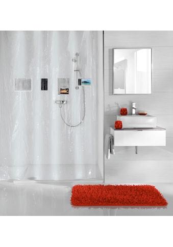 Kleine Wolke Duschvorhang »Pocket«, Breite 180 cm, Höhe 200 cm, inklusive 4 Taschen kaufen