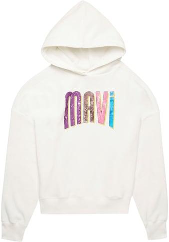 Mavi Sweatshirt, mit großem Logodruck vorne kaufen