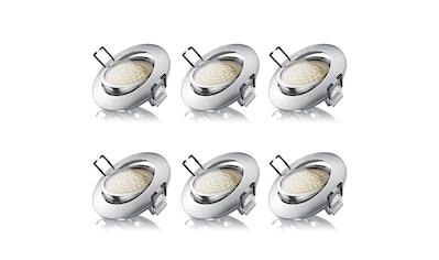 Brandson 6x LED Deckenspot mit Aluminium Druckgussrahmen kaufen