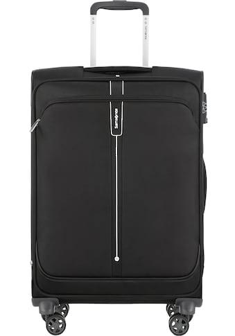 Samsonite Weichgepäck-Trolley »Popsoda, 66 cm, black«, 4 Rollen kaufen