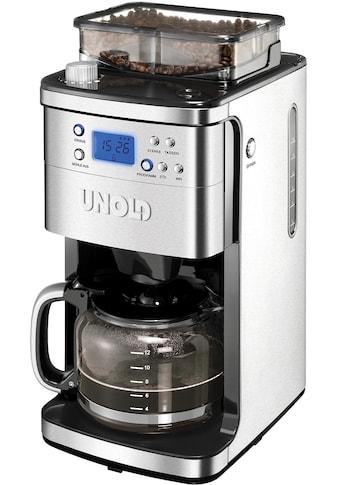 Unold Kaffeemaschine mit Mahlwerk 28736 Mühle, Permanentfilter 1x4 kaufen