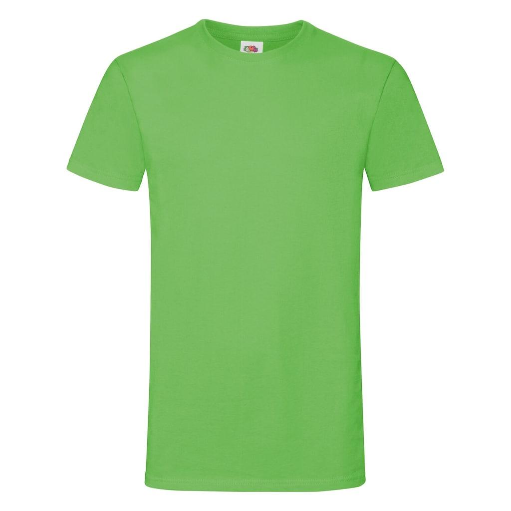 Fruit of the Loom T-Shirt »Herren Sofspun®, Kurzarm, Rundhals«