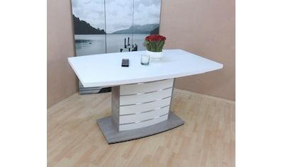 Esstisch »Malibu«, ausziehbar auf 180 cm kaufen