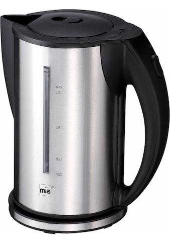MIA Wasserkocher, EW3672, 1,5 Liter, 2200 Watt kaufen