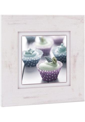 Home affaire Holzbild »Cupcakes«, 40/40 cm kaufen