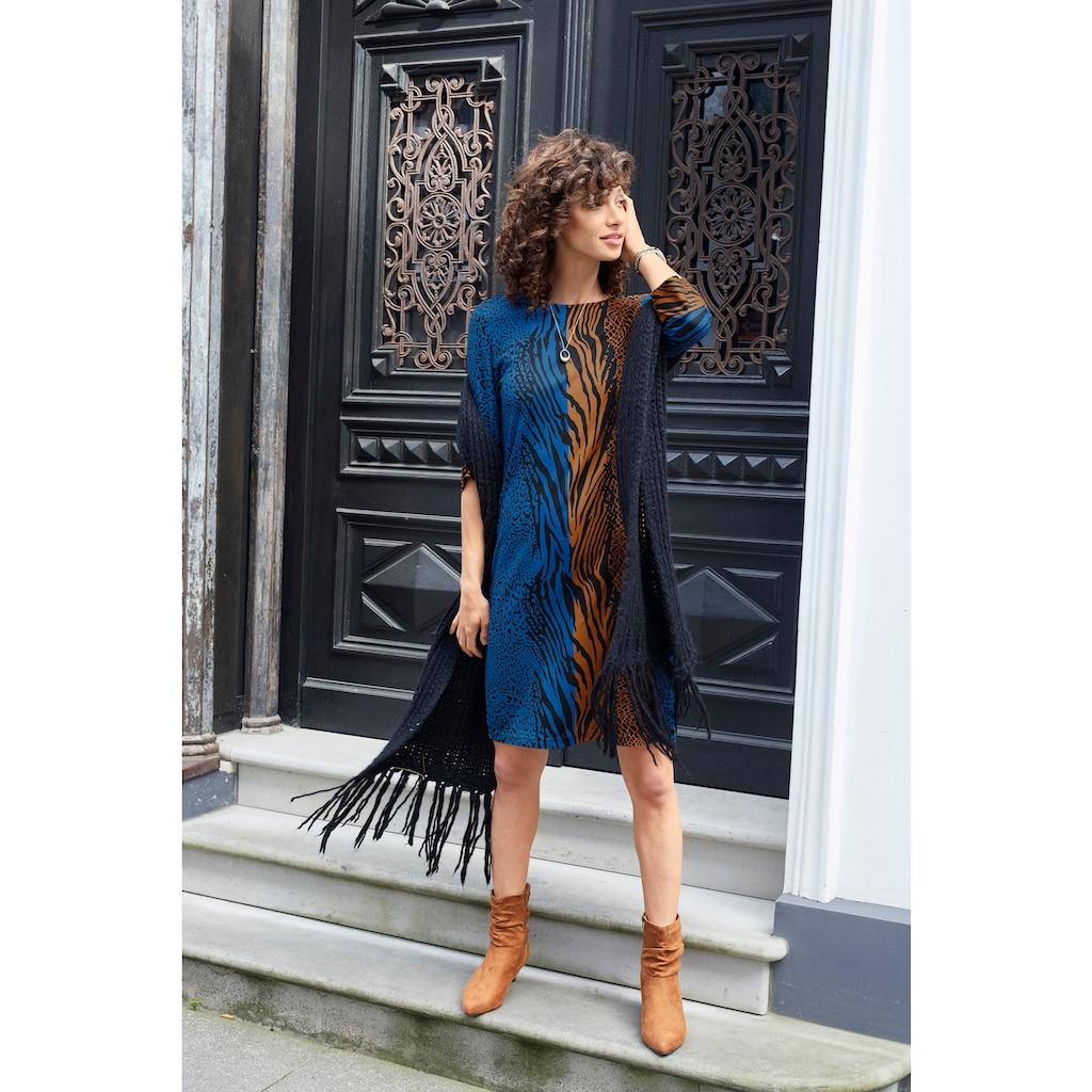 Aniston SELECTED Jerseykleid, im Animal-Print