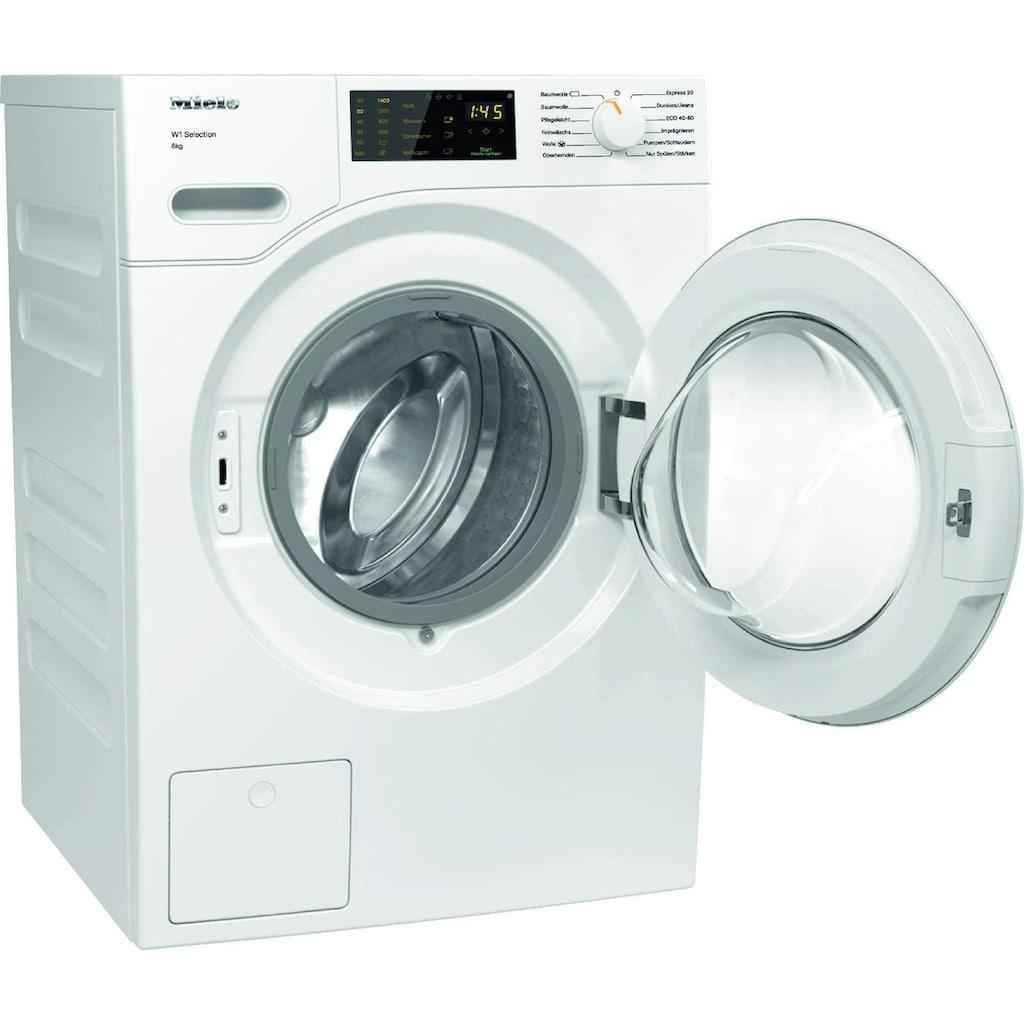 Miele Waschmaschine, WSD123 WCS W1, 8 kg, 1400 U/min