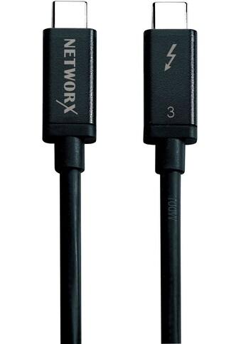 Networx Adapter »Thunderbolt 3 Passivkabel 0,5 m« kaufen