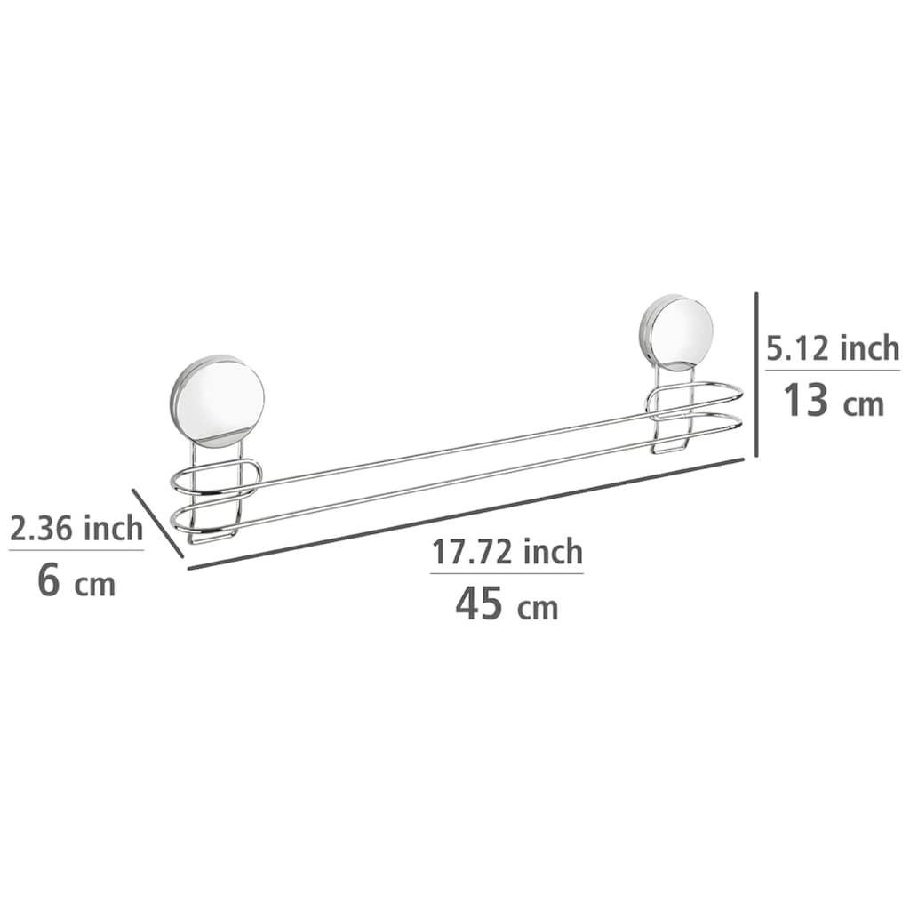 WENKO Handtuchhalter »Osimo«, BxTxH: 45x6x13 cm, befestigen ohne bohren