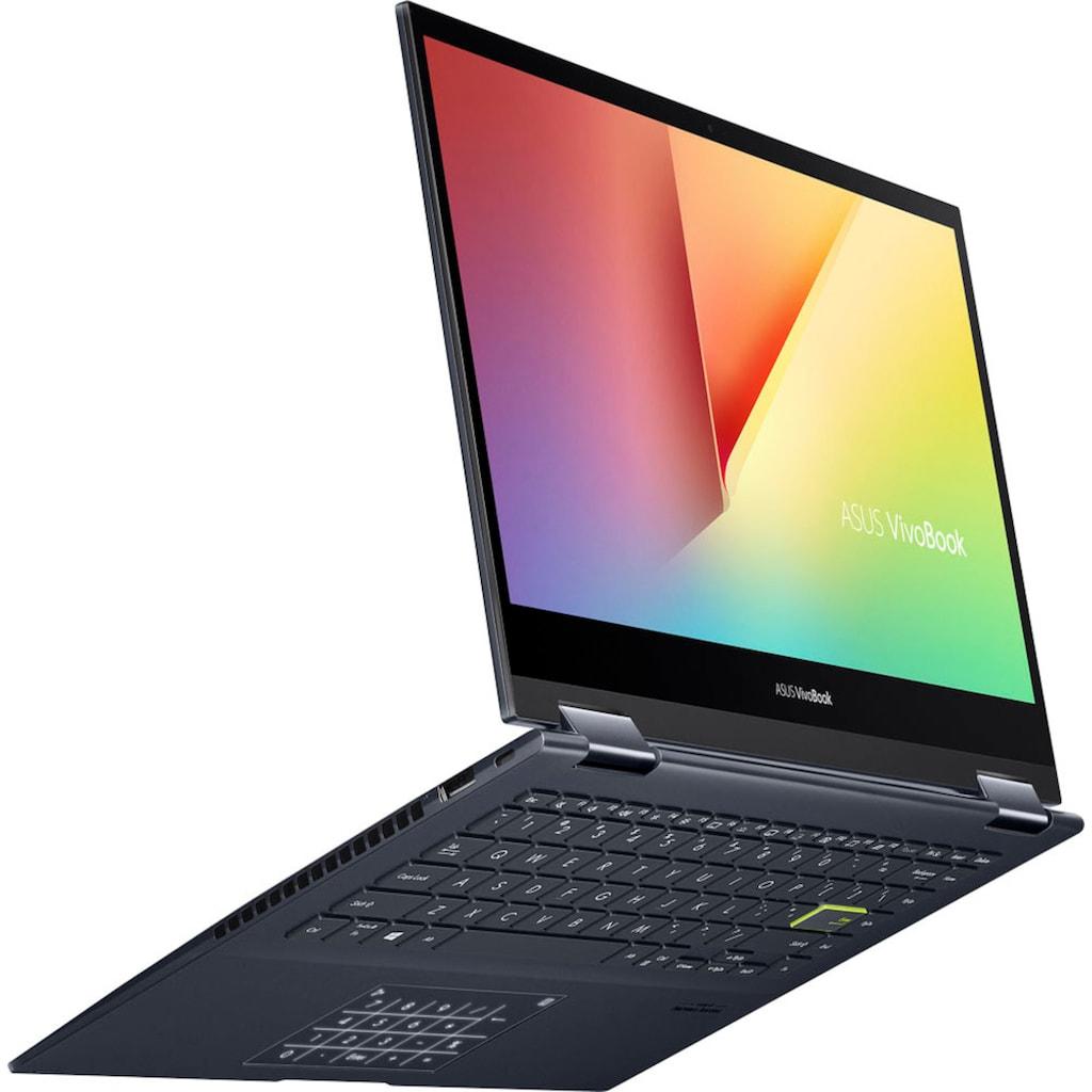 "Asus Convertible Notebook »VivoBook Flip TM420IA-EC260T«, (35,6 cm/14 "" AMD Ryzen 7 Radeon Graphics\r\n 512 GB SSD), Kostenloses Upgrade auf Windows 11, sobald verfügbar"