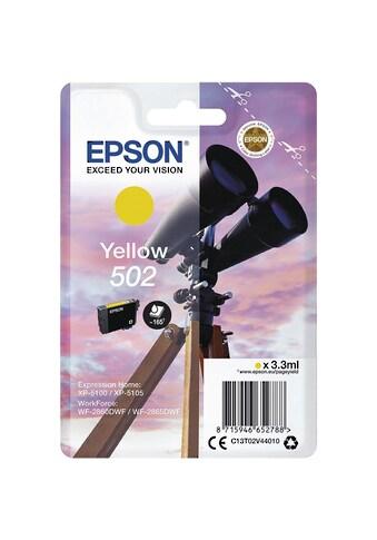 Epson Tintenpatrone - gelb kaufen