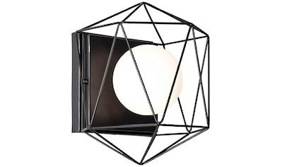Brilliant Leuchten Synergy Wand- und Deckenleuchte schwarz/weiß kaufen