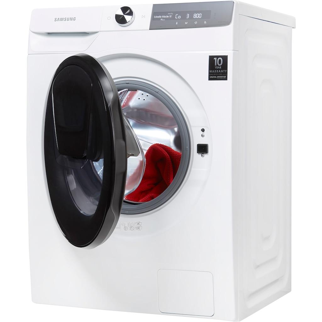 Samsung Waschmaschine »WW8ET754ABH/S2«, WW7500T, WW8ET754ABH, 8 kg, 1400 U/min