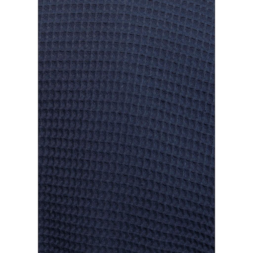 andas Unisex-Bademantel »Nora«, (1 St.), in leichtem Waffel-Piquee