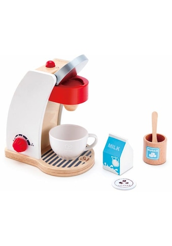 Hape Kinder-Kaffeemaschine »Meine Kaffeemaschine«, (Set, 6 tlg.), mit Ein-/Ausschalter... kaufen