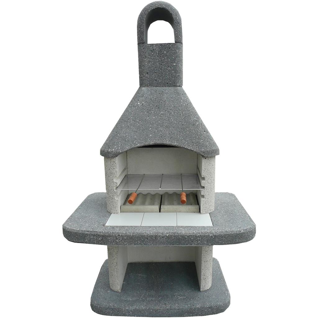WELLFIRE Grillkamin »Siesta«, BxTxH: 110x73x185 cm
