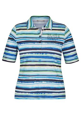 Rabe T-Shirt, mit Strass-Steinen und Streifen-Muster kaufen