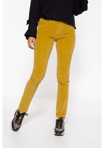 ATT Jeans 5-Pocket-Hose »Belinda Velvet«, mit Samt-Optik kaufen