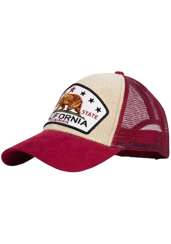 KingKerosin Trucker Cap »California Bear«, mit Cord kaufen