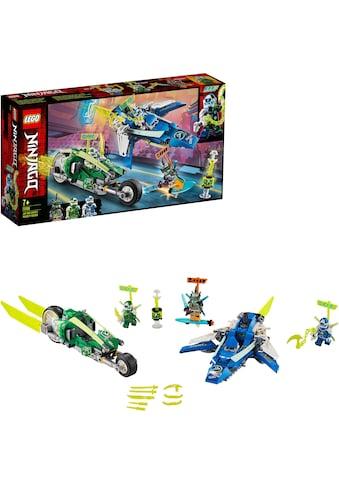 LEGO® Konstruktionsspielsteine »Jay und Lloyds Power-Flitzer (71709), LEGO® NINJAGO®«,... kaufen