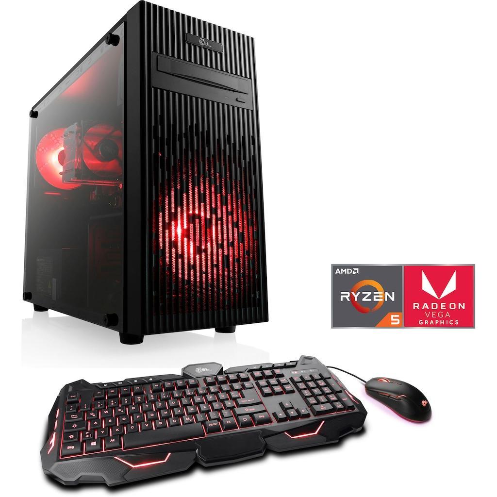 CSL Gaming-PC »Levitas T8418 Windows 10 Home«
