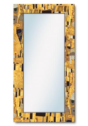 Artland Wandspiegel »Der Kuß«, gerahmter Ganzkörperspiegel mit Motivrahmen, geeignet... kaufen