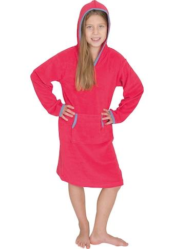 Wewo fashion Bademantel »8017«, mit Känguruh-Tasche kaufen