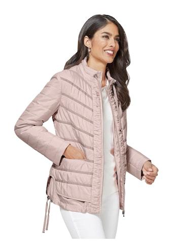 Classic Inspirationen Jacke mit vorteilhaftem Steppmuster kaufen
