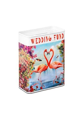 LOGOSHIRT Spardose mit Flamingo-Motiv kaufen