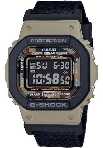 CASIO G - SHOCK Chronograph »DW - 5610SUS - 5ER« (Set, 2 tlg., Uhr mit 1 Wechselarmband) kaufen