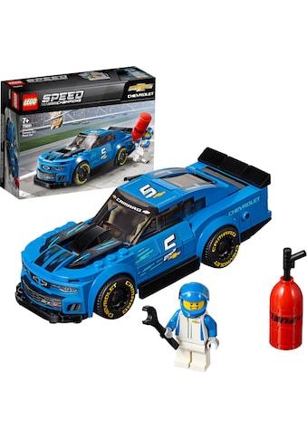 LEGO® Konstruktionsspielsteine »Rennwagen Chevrolet Camaro ZL1 (75891), LEGO® Speed... kaufen