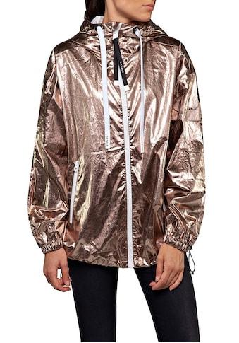 Replay Blouson, oversized Jacke im trendy Metallic-Look kaufen