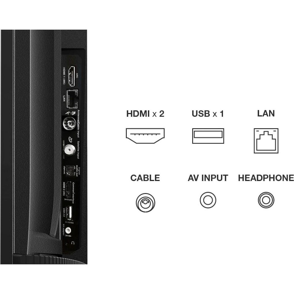 "TCL LED-Fernseher »50P611X1«, 126 cm/50 "", 4K Ultra HD, Smart-TV"