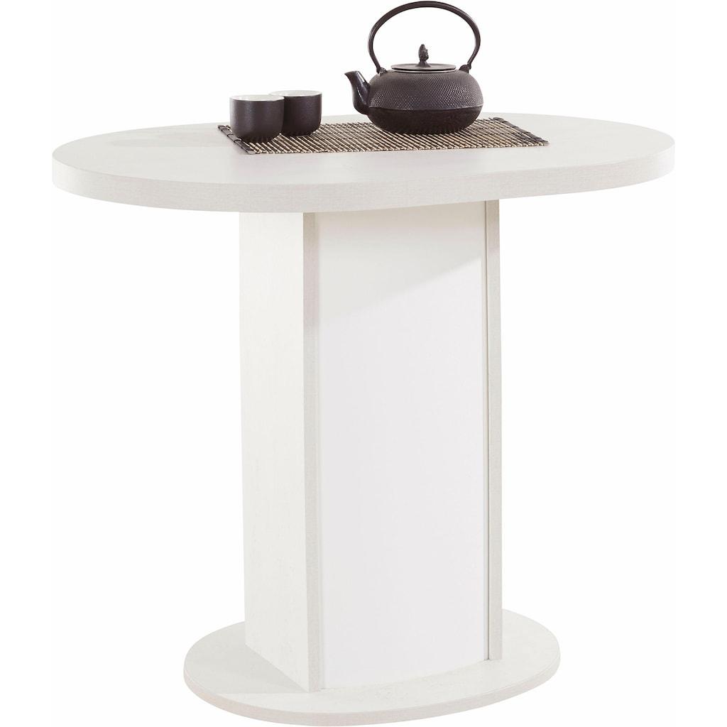 my home Säulen-Esstisch »Apollon 2«, Breite 90 cm, oval