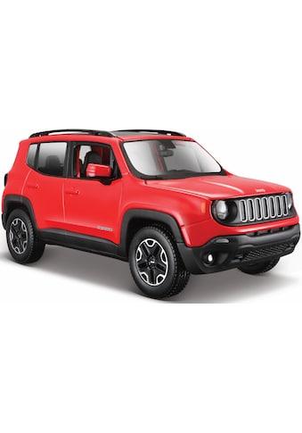 "Maisto® Spielzeug - Auto ""Jeep Renegade, 1:24, rot"" kaufen"