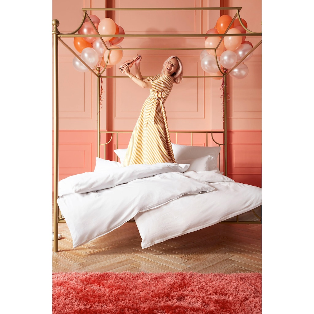 Guido Maria Kretschmer Home&Living Bettwäsche »Mila«, in dezenten Unitönen, democratichome Edition