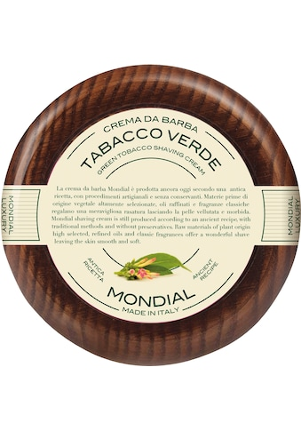 Mondial Antica Barberia Rasiercreme »Luxury Shaving Cream Wooden Bowl Tabacco Verde« kaufen
