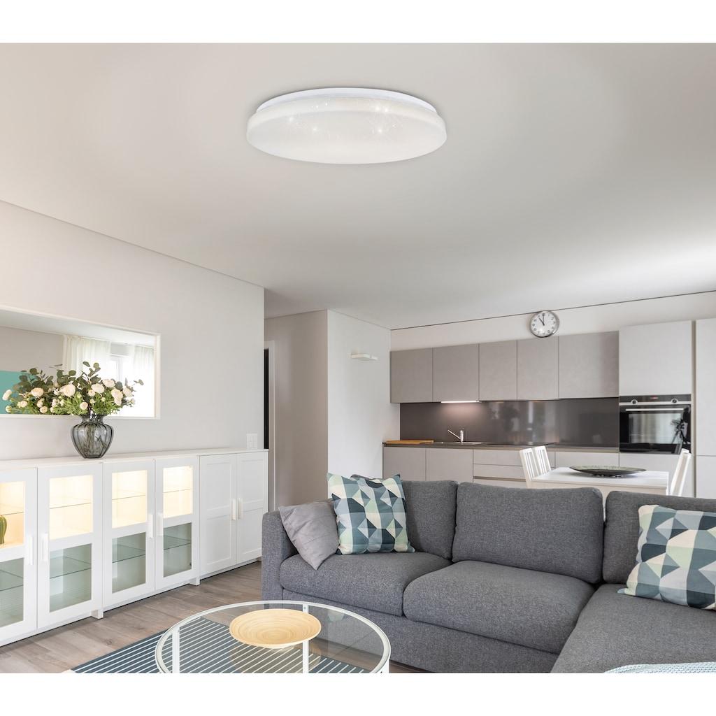 näve LED Deckenleuchte »Grenoble«, LED-Board, 1 St., Warmweiß-Neutralweiß-Kaltweiß, Frabwechsel- und Nachtlichtfunktion
